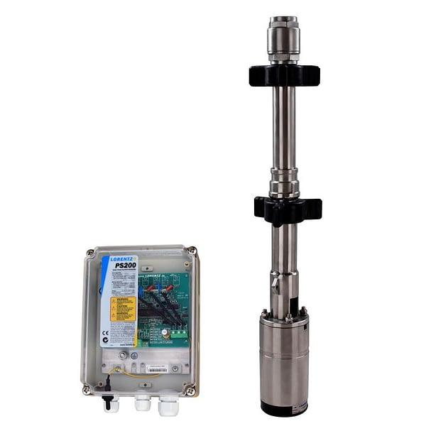 Lorentz ps200 hr-07-3 submersible pump system