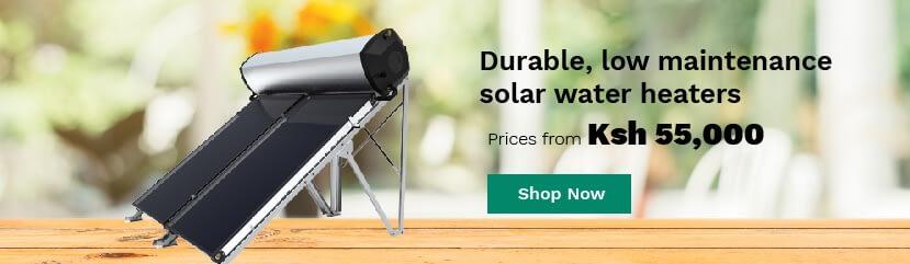 solar water heaters for sale in kenya banner