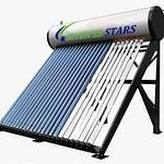 200 Liters Pressurized/ Heat-Pipe SEVEN SS STARS Solar Water Heater